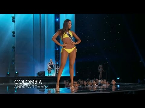 Andrea Tovar Miss Colombia Preliminary Competition Miss Universe 2016 HD