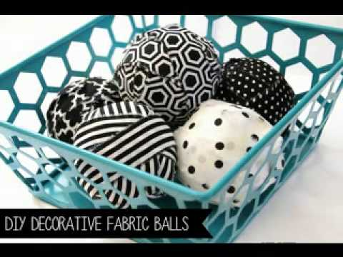 How To Make Decorative Balls Pleasing Creative Diy Decorative Balls Ideas  Youtube Decorating Design