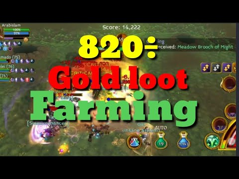 Arcane Legends/ Varden Valley Gates 820÷ Gold Loot Farm