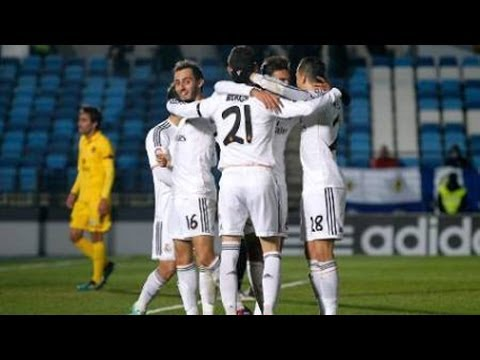 Real Madrid Castilla vs Barcelona B • 3-1 • Mini Classico • 15 02 2014 • Two red card