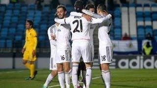 Real Madrid Castilla vs Barcelona B • 3-1 • Mini Classico • 15 02 2014 • Two red card