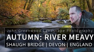 River Meavy in Autumn in Dewerstone Woods at Shaugh Bridge | Landscape Photography