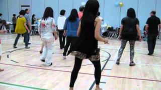 Sideway Shuffle - Line Dance @ 2012 Dodo
