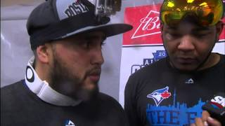 Encarnacion, Navarro pull two-for-one interview