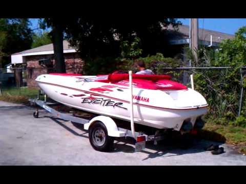 Yamaha Exciter Jet Boat