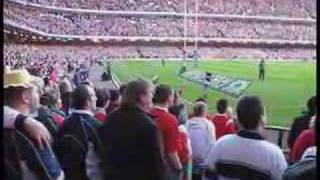 Welsh National Anthem - Rugby Crowd Sing Millenium Stadium