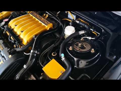 Mitsubishi 3000 GT - Engine Bay Rebuild