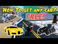 Gambar cover How to Get Every Car in Mad City for Free Car Glitch