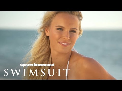 Ronda Rousey & Caroline Wozniackibehind The Tanlines | Sports Illustrated Swimsuit