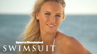 Ronda Rousey & Caroline Wozniacki | Behind The Tanlines | Sports Illustrated Swimsuit 2015