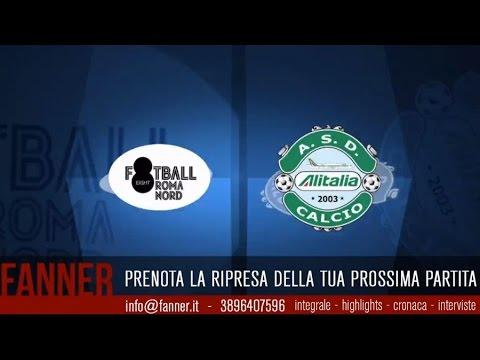 [Integrale] A - 25^ - Football 8 Roma Nord VS Alitalia Calcio - legacalcioa8.it