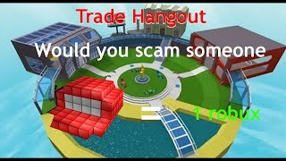 Roblox Social Experiment: Would you scam someone?
