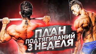постер к видео ПОДТЯГИВАНИЯ lvl 3 / 30 ПОВТОРЕНИЙ ЗА 7 НЕДЕЛЬ??