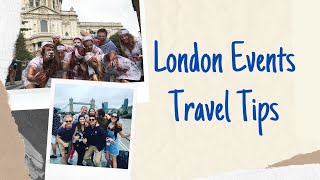 How to Travel - Londons Best Events