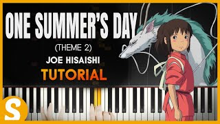 "Video How to play ""One Summer's Day"" (2nd Theme) Spirited Away by Joe Hisaishi