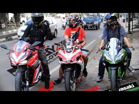 CBR250RR vs R25 vs NINJA250FI | Honda x Yamaha x Kawasaki