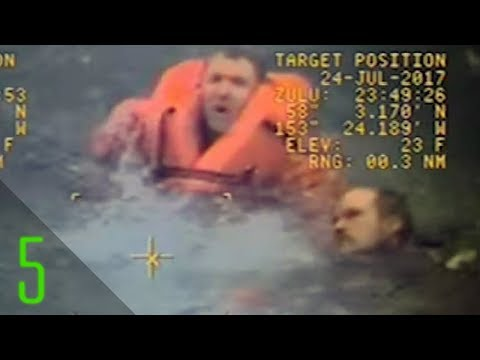 5 Men Left for Dead at Sea But Who Incredibly Survived