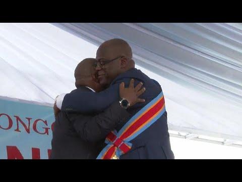 DR Congo President Tshisekedi says he plans new coalition