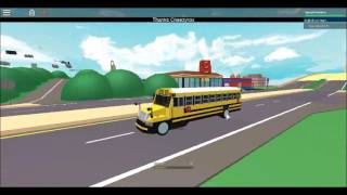 Driving a 2002 IC Amtran CE School Bus - ROBLOX