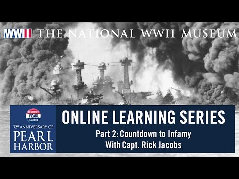 Pearl Harbor 75 Online Learning Series Part Two with Capt. Rick Jacobs