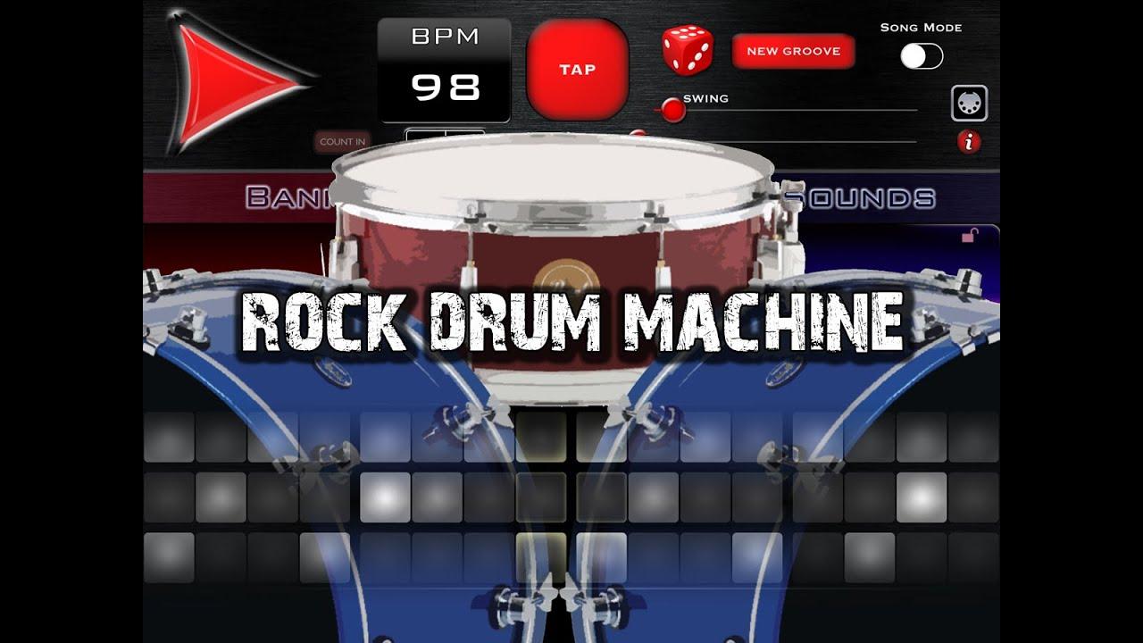 rock drum machine 3 for ipad youtube. Black Bedroom Furniture Sets. Home Design Ideas