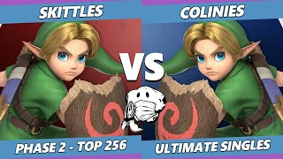 GOML 2020 SSBU - SKITTLES!! (Young Link) Vs. Colinies (Young Link) Ultimate Top 256