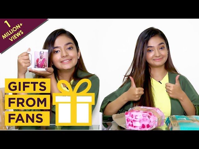 Anushka Sen Unwraps Gifts From Her Fans   Birthday Special