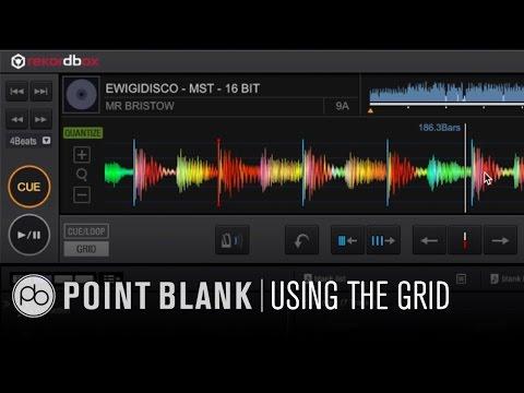 Pioneer Rekordbox 3.0: Using the Grid