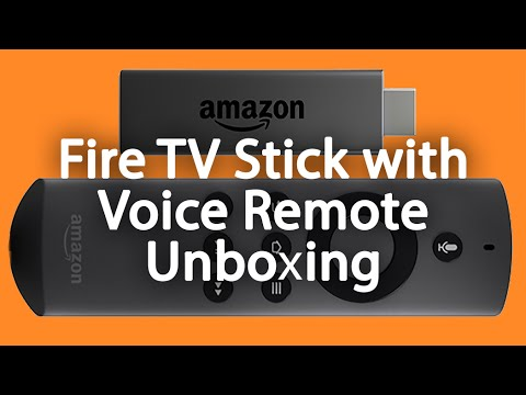 Amazon Fire TV Stick with Voice Remote Unboxing​​​ | H2TechVideos​​​