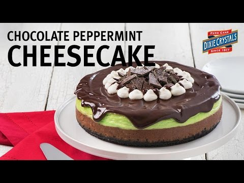 How to Make Chocolate Peppermint Cheesecake