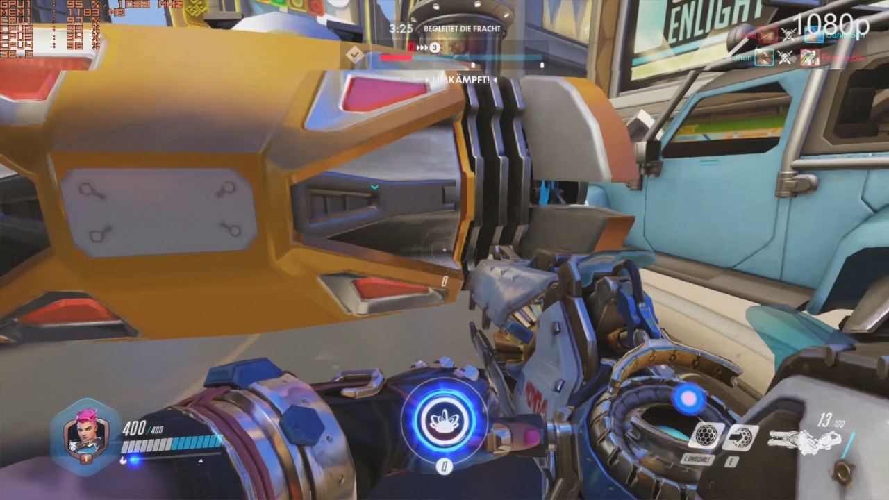Overwatch frame rate
