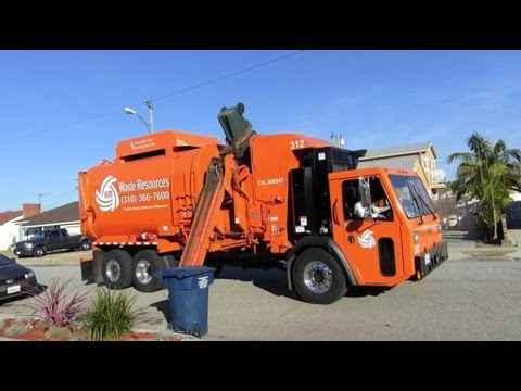 "2015 CCC LET2/Amrep ""N3"" Automated Garbage Truck"