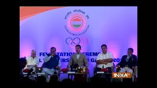 Ioa Presented Cash Awards To The Medal Winners Of Asian Games