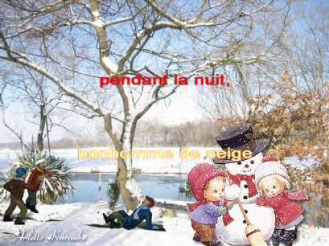 Arlette-Karaoké--Bonhomme de neige