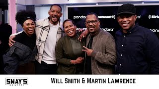 Will Smith & Martin Lawrence Talk 'Bad Boys for Life' Movie, Life Lessons & Advice | SWAY'S UNIVERSE
