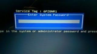 DELL Inspiron N5050 remove bios password
