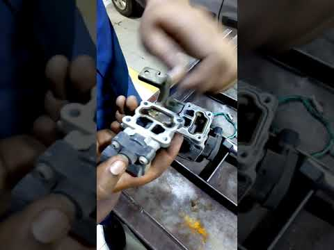 WagonR car throttle body sensor remove and cleaning