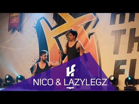 """Nico Archambault & Lazylegz """"No excuses, No Limits"""" Hit The Floor"""