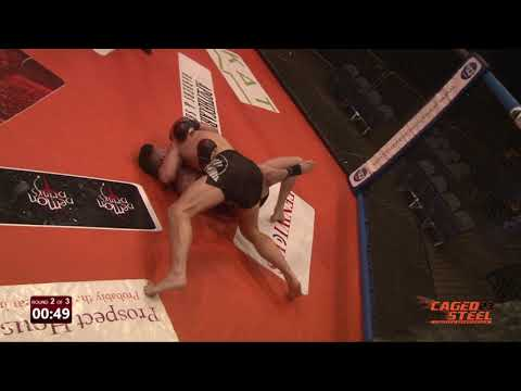 Robert Ionescu V Luke James - Caged Steel 23