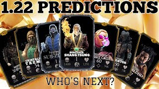 1.22 PREDICTIONS for MKX Mobile!