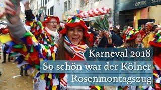 So schön war der Kölner Rosenmontagszug 2018