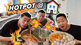 BEST WAY TO EAT CANTONESE HOT POT AT HOME! (Da Bin Lo)