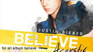 Justin Bieber - Boyfriend (Believe Acoustic)