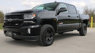 2016 Chevrolet Silverado 1500 LTZ Z71 4X4 Midnight Edition Crew Cab at Wilson County Chevy