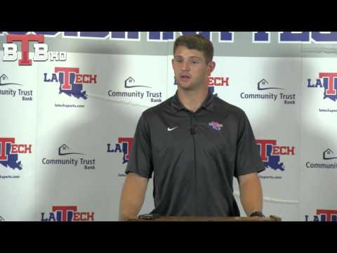 LA Tech QB Jeff Driskel on WKU and K-State