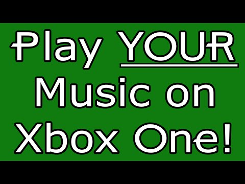 PLAY YOUR OWN MUSIC ON XBOX - Background Music Tutorial!