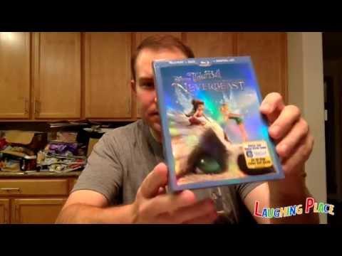 Tinker Bell And The Legend Of The Neverbeast Blu-Ray Unboxing