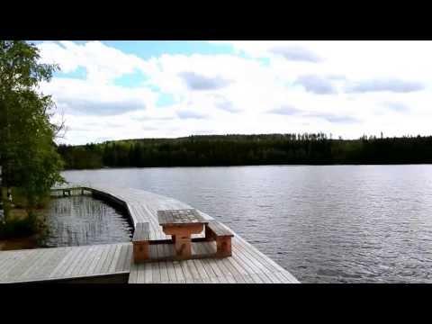 """Badestelle am See in """"Hytabyn"""" Småland, Schweden (Schwedenhaus-Vermittlung.de)"""