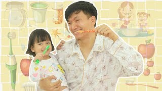 My Morning Routine | Nora and Papa