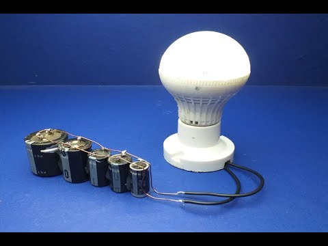 Free Energy Experiment Using Super Capacitor and Magnets _ Science
